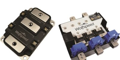 Wolfspeed's SiC module is available from Richardson RFPD