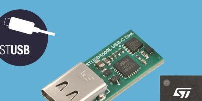 Standalone Vbus-powered controller is certified for 5V sink-only applications