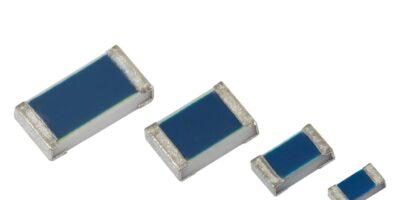 Vishay Intertechnology offers thin film flat chip resistors in 0402 case