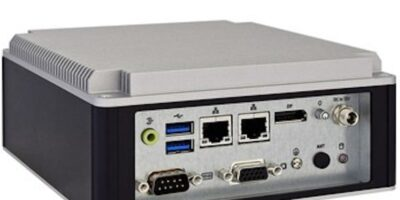 Small, boxed industrial computer offers dual Ethernet