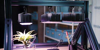 Horticultural kit has sensor nodes