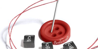 Power inductors reduce DC resistance to improve efficiency