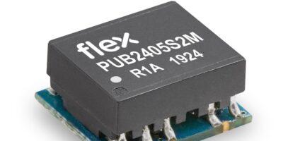 Flex Power Modules adds PUB-2M DC/DC converters
