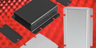 Hammond adds flat base model to extruded aluminium enclosures