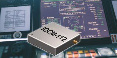 OCXO includes an internal GNSS receiver