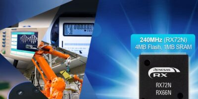 RX72N and RX66N microcontrollers enhance real-time industrial automation