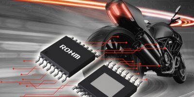 Integrated LED driver IC sends right signals for motorcycle design