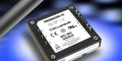 600W half-brick DC/DC converter rises to renewable energy input challenge