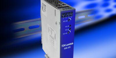DIN-rail power supplies keep cool, says TDK-Lambda