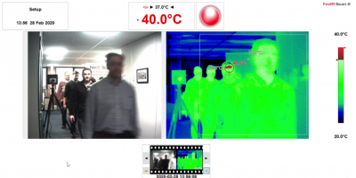 Thermal imaging screening systems hit fever pitch