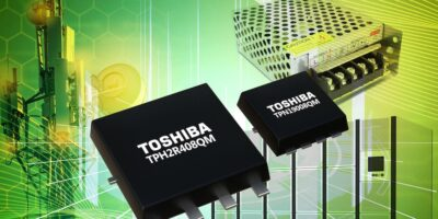 Two 80V n-channel power MOSFETs address low-loss operation
