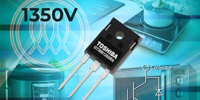 1,350V IGBT reduces losses in domestic appliances, says Toshiba