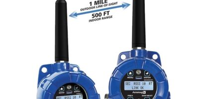 Point-to-point wireless I/O modules replicate signals at remote locations
