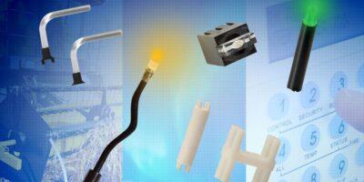 Anglia adds Bivar light pipes and indicators to optical portfolio