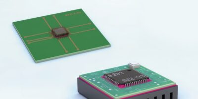 Adhesive remains strong after reflow cycles for reliable operation
