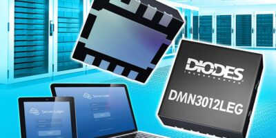 MOSFET increases conversion efficiency and saves space, says Diodes Incorporated
