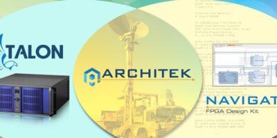 ArchiTek FPGA development suite adds custom FPGA IP to Talonrecorders