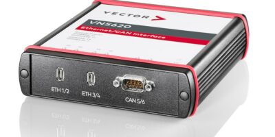 VN5620 tests automotive Ethernet and CAN/CAN-FD