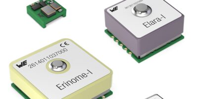 GNSS modules meet diverse requirements, says Würth Elektronik