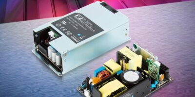 250/450W power supplies are compact for healthcare, industrial and ITE