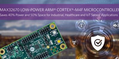 Microcontroller increases equipment uptimes, says Maxim