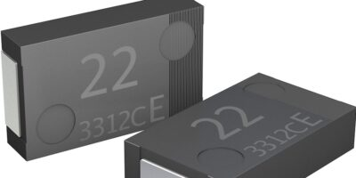 Polymer capacitor boasts lowest ESR, says Panasonic Industry Europe