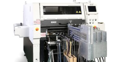 Odd-form component insertion machine minimises downtime