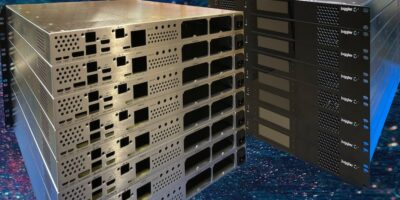 Verotec delivers custom 19 inch rack for Juggler pixel systems