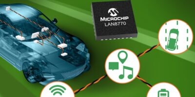 Ethernet PHY has industry's lowest sleep current, says Microchip