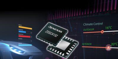 LIN interface sensor signal conditioner reduces BoM for EVs/HEVs