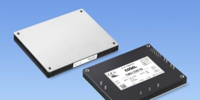 Low profile AC/DC power module suits industrial and medical applications