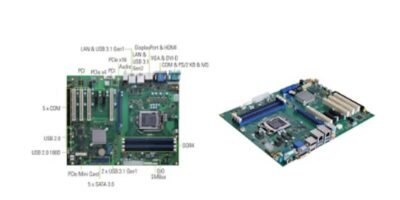 Smart factory ATX motherboard is based on Intel Xeon E processor