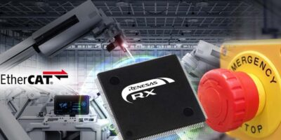 Renesas adds functional safety over EtherCAT for RX microcontrollers