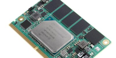 SMARC 2.1-compliant SoM improves CPU performance