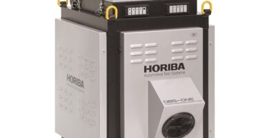 Rugged enclosure protects portable emissions measurement system