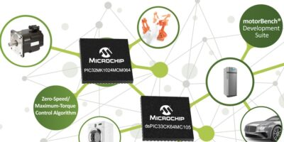 Microchip adds DSCs and MCUs for motor control