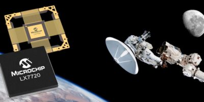 Microchip integrates rad-hard motor control with position sensing for satellites