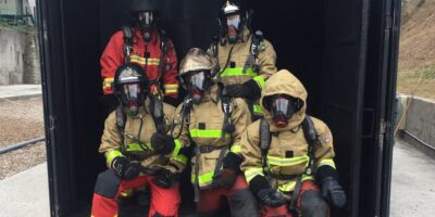 Editors Blog – Firefighters' clothing provides temperature alarms