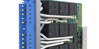 Heavy AC or DC load switching modules take up single PXI slot