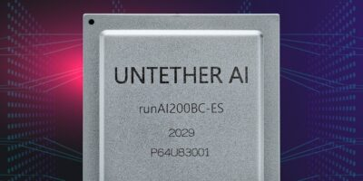 Accelerator card by Untether AI delivers up to two Peta OPS for AI inference