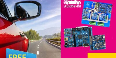 Anglia signs deal with STMicroelectronics for AutoDevKit