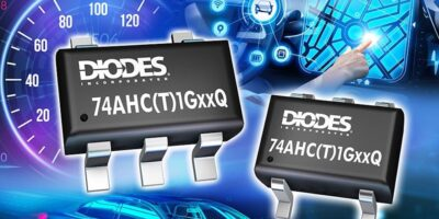 Diodes pitches single gate logic devices at automotive applications