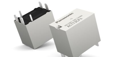 Relays are sized to meet next-gen automotive technology