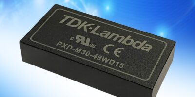 PXD-M30 DC/DC converters have wide input ranges