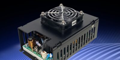 Integrated fans make CUS400M supplies suitable for medical use