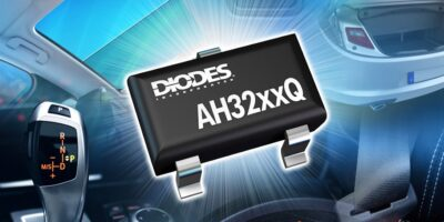 Self-diagnostic Hall-effect switches are automotive-qualified