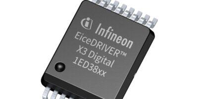 EiceDriver X3 families eliminates external booster components