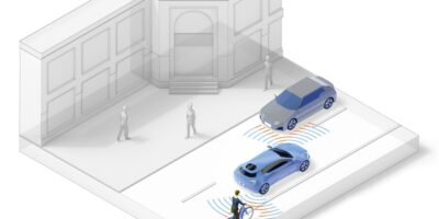 Radar sensor suite has all-round sensing for vehicles
