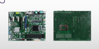 Industrial ATX computer board sparkles for industry 4.0