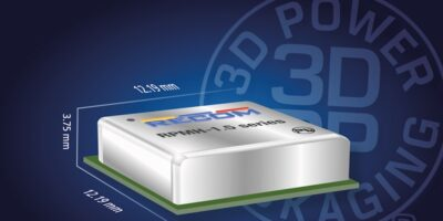 Switching regulators are in Recom's 3D Power Packaging